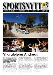Vi gratulerer Andreas - NAF