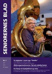 Seniorernes Blad nr. 2 2013 - Pensionisternes Samvirke