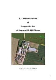 12 godkendelse vedr. Snuhøjvej 10, 8881 Thorsø - Favrskov ...