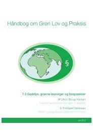 Håndbog om Grøn Lov og Praksis - EnergiMidt