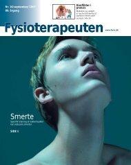 Fysioterapeuten nr. 16, 2007 - PTU