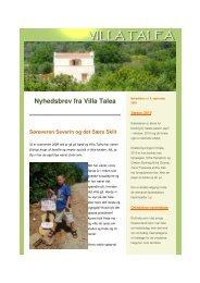Nyhedsbrev fra Villa Talea Sørøveren Severin og det ... - Holiday Crete
