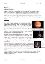 Jupiter. - Undervisning på Esager.com