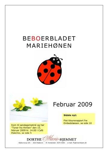 BEBOERBLADET MARIEHØNEN Februar 2009 - Mariehjemmene