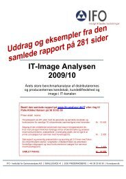 IT-Image Analysen 2009/10 - IFO Instituttet for Opinionsanalyse