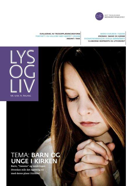 Nummer 4/2008 - Det teologiske Menighetsfakultetet
