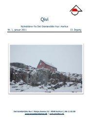 Januar 2011 - De grønlandske huse i Danmark