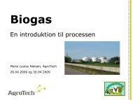 Hvad er biogas - LandbrugsInfo