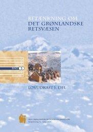 Betænkning 1442 om det grønlandske retsvæsen, bind 5 - Krim