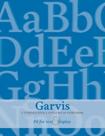 Garvis - James Todd Design
