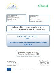 CONCERTO INITIATIVE Advanced technologies and ... - Class1.dk