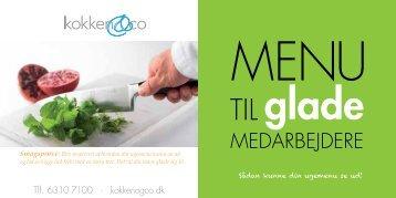 til glade - Kokken & Co