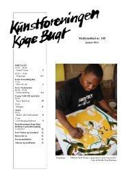 medlemsblad nr. 105, januar 2013 - Kunstforeningen Køge Bugt