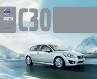Klik her for at downloade Volvo C30 brochure