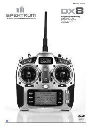 Spektrum DX8 manual - ModelPilot.dk
