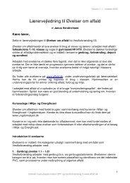Lærervejledning til Øvelser om affald - Emu