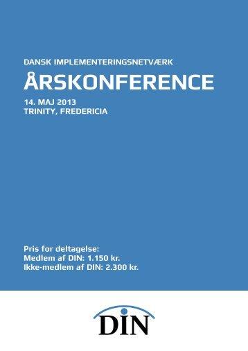 Årskonference - Dansk ImplementeringsNetværk