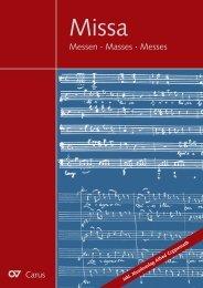 Messen · Masses · Messes