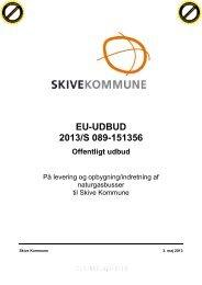 EU-UDBUD 2013/S 089-151356 - Skive.dk