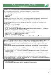 Werken met roterende verreiker (IS-031) - BeSaCC-VCA