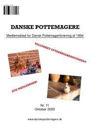 2005 - Medlemsblad nr. 11 - Pottemagere   Keramiker