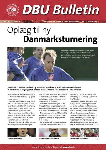 Oplæg til ny Danmarksturnering - DBU