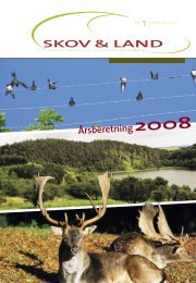 bereTnInG 2008 - Danske Skov- og Landskabsingeniører