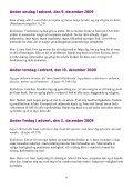 Advent Refleksioner 2009 - Sankt Laurentii Kirke - Page 6