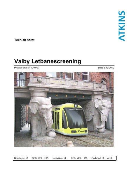 Valby Letbanescreening Valby Lokaludvalg Københavns Kommune
