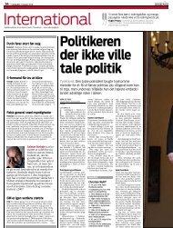Politikeren der ikke ville tale politik Tyskland - EurActiv.de