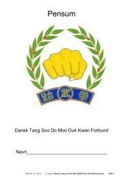 se en PDF online - Ødsted Moo Duk Kwan Tang Soo Do & Taekwondo