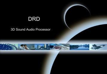 PowerPoint 簡報 - DRD Audio