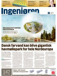 Dansk farvand kan blive gigantisk havmøllepark for hele ... - LiveBook
