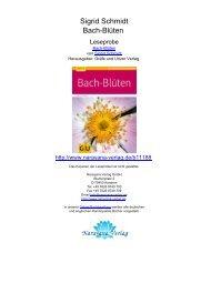 Sigrid Schmidt Bach-Blüten