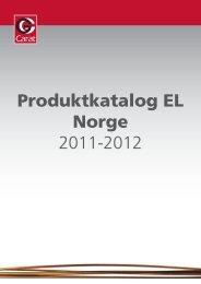 Norsk EL katalog 2011-2012 - GGcarat
