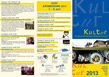 Kulturfolder 2013-1_12122012.indd - SdU