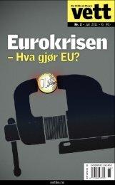 Vett 2_2011 EUROKRISEN.pdf - Nei til EU