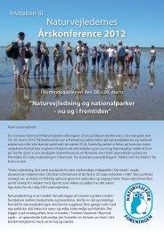 Naturvejledernes Årskonference 2012 - Naturvejlederforeningen i ...