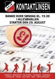 Kontaktlinsen august 2010 - Allesø Gymnastik Forening