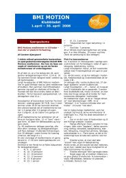 folder 1. april til 30. april - Beder-Malling Idrætsforening