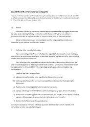 Utkast til forskrift om kommunal beredskapsplikt - Direktoratet for ...