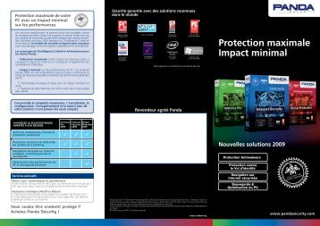 Protection maximale Impact minimal Nouvelles ... - Panda Security
