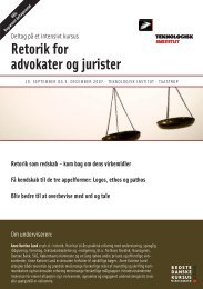 Retorik for advokater og jurister - Anne Katrine Lund