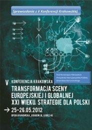 V Konferencja Krakowska