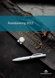 Årsredovisning 2012 - Kammarkollegiet