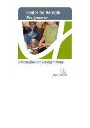 Kære forældre - Center for Høretab