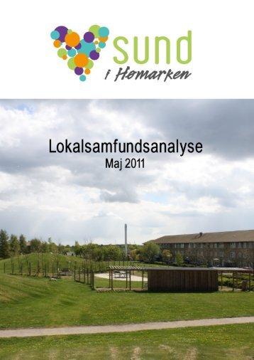 Lokalsamfundsanalyse maj 2011 - Sund i Hømarken
