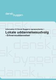 Lokale uddannelsesudvalg - Dansk Byggeri