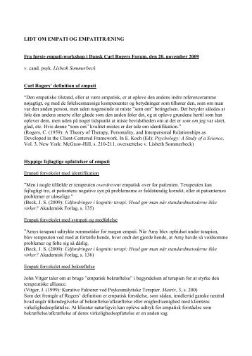 download i pdf - Dansk Carl Rogers Forum
