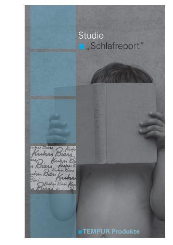 """Studie """"Schlafreport"""" - Kuhn und Bieri AG"""